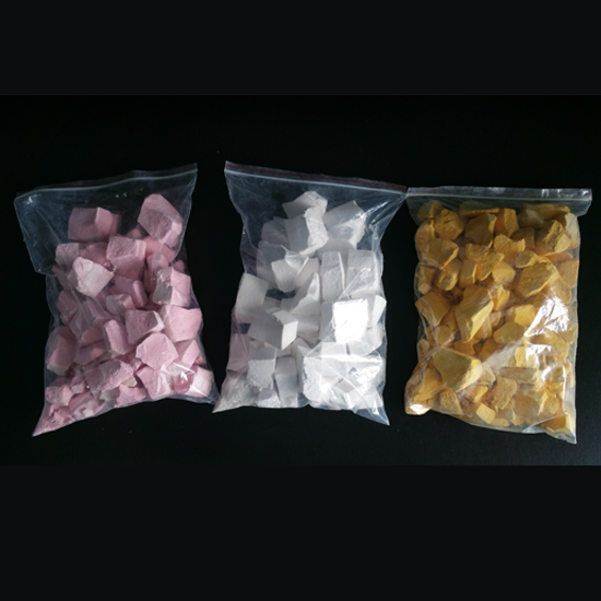 colored chunky chalk, OEM colored crush chalk